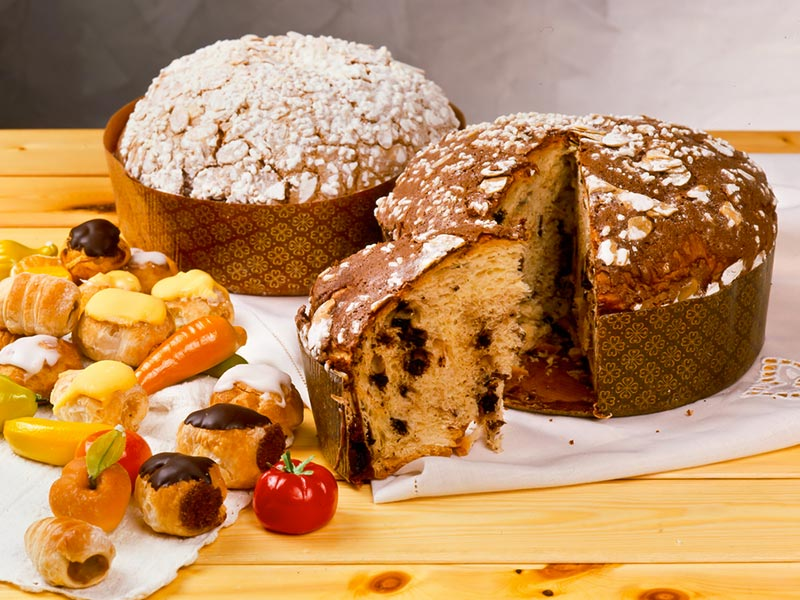 Italian Dome Cake
