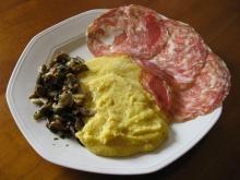 soppressa-polenta